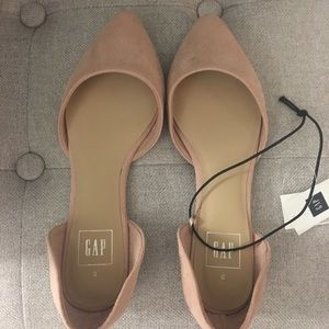 Gap light pink flats